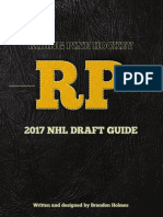 Riding Pine 2017 NHL Draft Guide