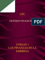 Unidad 1 - Las Finanzas en La Empresa
