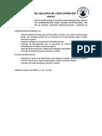 Certificado o Renovacion Sanitario - Callao Peru
