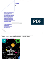 """Reseña_ """"La Gran Novela de Las Matemáticas"""" de Mickaël Launay _ Ciencia _ La Ciencia de La Mula Francis"""