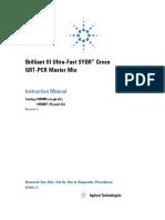 Brilliant III SYBR Green QRT-PCR Master Mix Kit, 1 Step