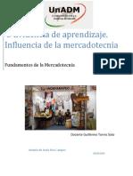 IFME_U1_EA_ANRC.actividad 3 Evidencia de Aprendizaje. Influencia de La Mercadotecnia