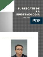 El Rescate de La Epistemología Presentacion Diapositiva