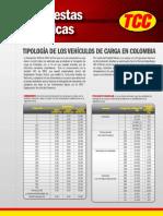 Tipologia de Vehiculos de Carga en Colombia