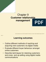 Chapter 9 Customer Relationship Management