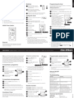 Digital Timer Switch Ax300 Manual Book