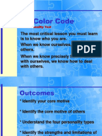 Interactive Color Code Slide Show