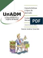 IFME_U2_A1_ANRC. Actividad 5 Características y Tipos de Mercado