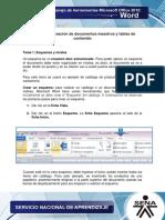 Microsoft Word Unidad 4
