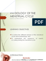 Physiology of the Menstrual Cycle 1