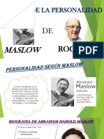 Expocion Personalidad Maslow y Rogers