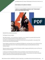 """Chile, Respuesta de Margarita Labarca a La Precandidata Presidencial Del """"Frente Amplio""""_ Beatriz Sánchez a Sus Afirmaciones Sobre Fidel Castro y Cuba"""