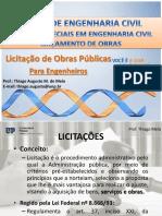 Aula Licitação_Tópicos Especiais 2017.1