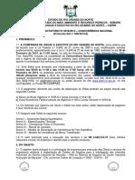 Edital de Serviços de Implantação Do Coletor de Esgotos Do DIN - NOVO