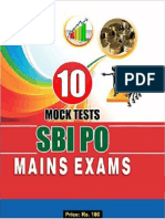 BSC Academy- SBI PO Practice Set - 10 Sets