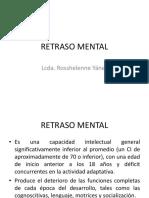 5 Retraso Mental