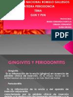 Clase Gun y Pun y Saco Patologico