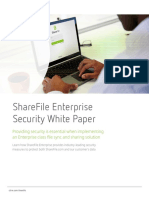 Sharefile Enterprise Security Whitepaper