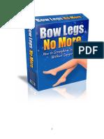 Cara mengatasi kaki bengkok