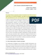 Enviando La Despolitizacion Del Sujeto en Haidegger-Luciana Carrera