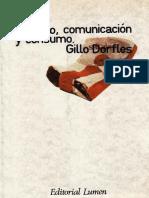 Dorfles, Gillo - Simbolo Comunicacion y Consumo