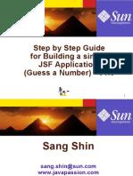 StepByStepGuideForBuildingSimpleJSFApp