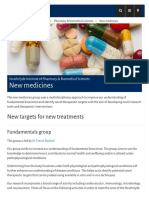 New Medicines - University of Strathclyde