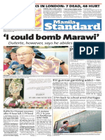 Manila Standard 20170605 Monday