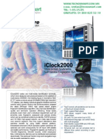 ctrl de asistencia ZK TAC1801W(iCLOCK2000W)