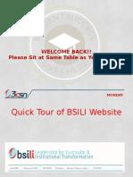 BSILI2017 Day 1 Mondayfv