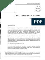 Hacia La Reforma Electoral 2002 06