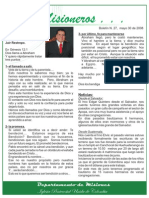 boletin 27 MAYO 30 08 - REFLEXION HNO  JAIR RESTREPO- NOTICIAS EL SALVADOR Y GUATEMALA