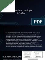 Alineamiento Multiple T-Coffee