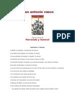 Juan Antonio Vasco_Parranda y Funeral