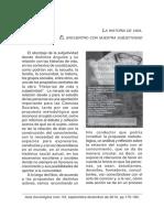 Desatnik, O. (2017). La Historia de Vida El Encuentro Con La Subjetividad