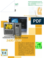 ctrl de asistencia ZK TAC2200(S400)