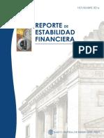 BCRP - Reporte Estabilidad Financiera - Nov-2016