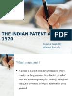 New Patent Act 2002