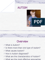 Dominic a Autism
