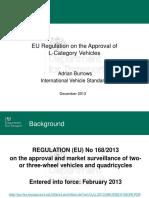 L-Category Vehicles Workshop Presentations
