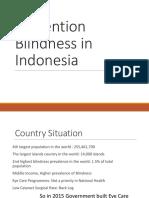 Prevention Blindness Programs in Indonesia(Logo)