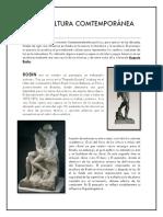 La Escultura Comtemporánea