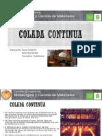8 Colada Continua - Exposicion 1