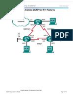 6.2.3.8 Lab - Configuring Multiarea OSPFv2 Final