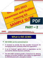 ISO 22301 Certification Training