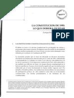 La Constitucion 1993 Lo Que Deberia Quedar 2002 06