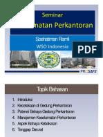2017 Seminar Keselamatan Gedung Perkantoran