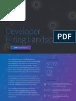 Global Developer Hiring Landscape 2016