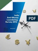 India Anti Money Laundering Survey 2012