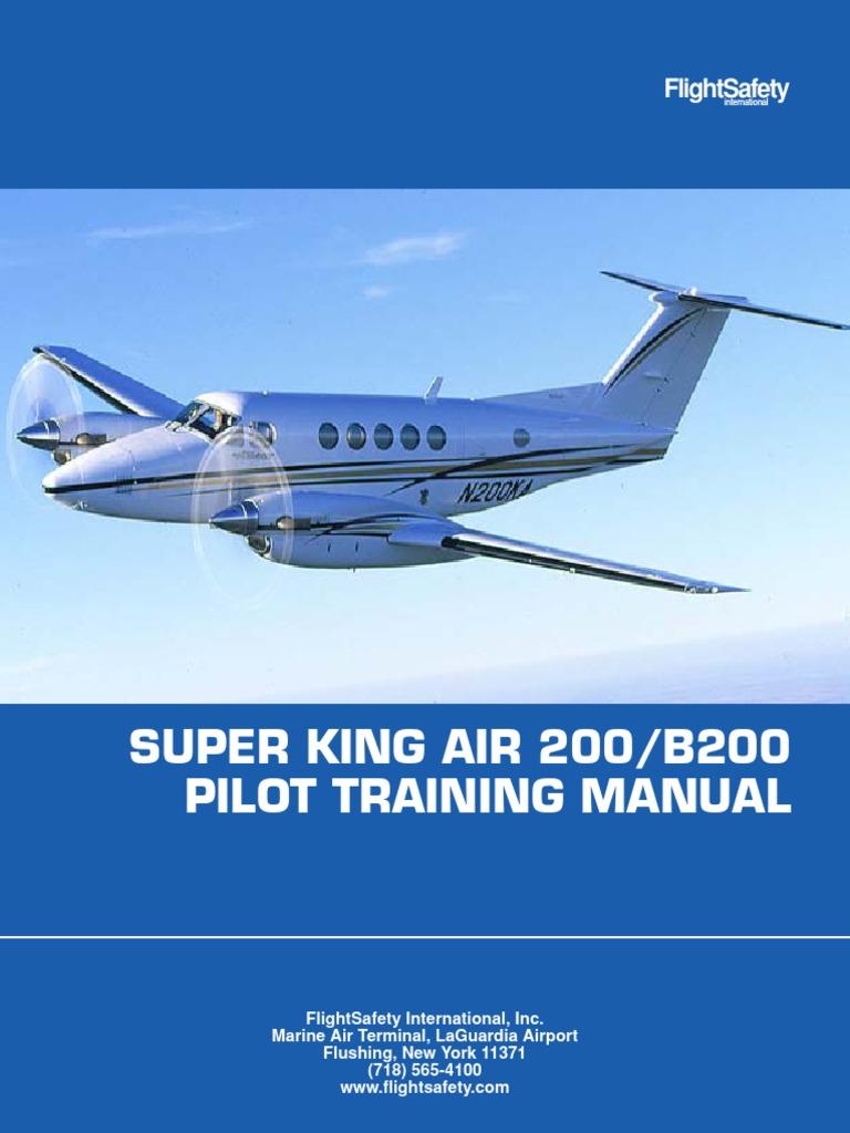 be200 pdf aircraft flight control system rudder rh es scribd com King Air 300 beechcraft king air c90 pilot training manual